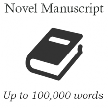 Novel Manuscript (Up to 100K words)